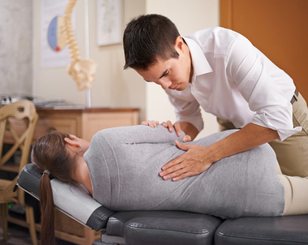 Chiropractor Adjustment 2